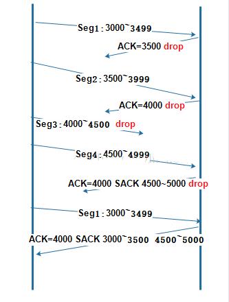 sack选项在TCP-IP协议中的作用